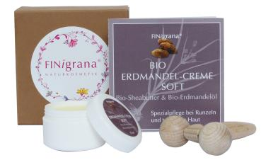 "Massage-Set ""Bio Erdmandelcreme Soft"""
